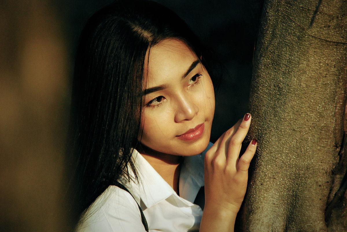 tender Korean woman