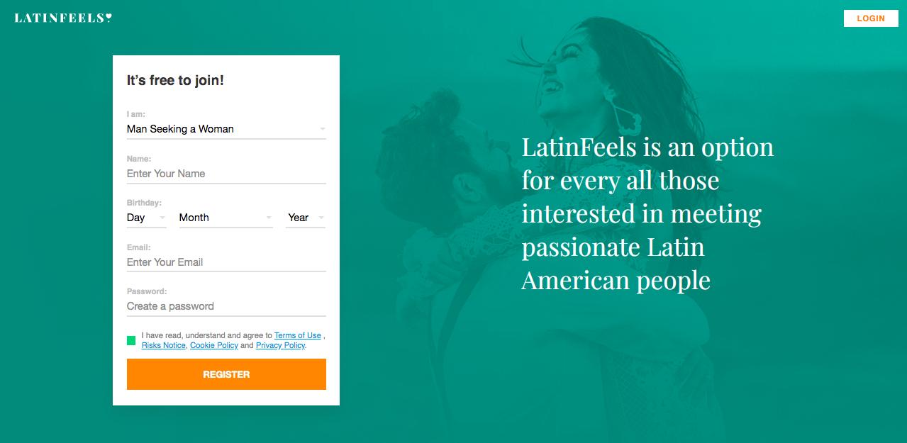 main page LatinFeels